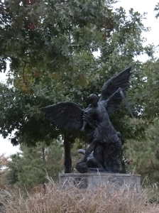 Statue of a Warrior Angel
